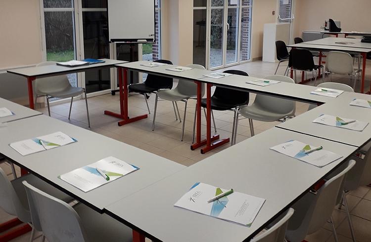Salle de formation du centre de Honfleur