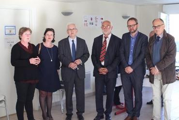 Inauguration du centre Honfleur IRFA